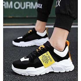 Giày sneaker thể thao nam cổ thấp phong cách Hàn Quốc