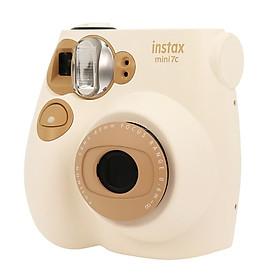 Fuji once imaging camera (instax) mini7C camera milk color