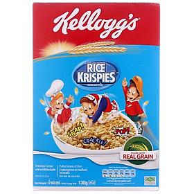 Ngũ cốc gạo rang Kellogg's Rice Krispies hộp 130gr