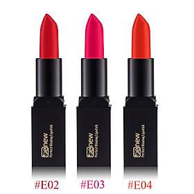 Son lì dưỡng, siêu mềm mượt Benew Perfect Kissing Hàn Quốc 3.5g E02 Real Red tặng kèm móc khóa-3
