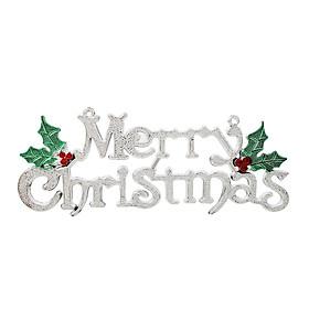 Bảng Chữ Merry Christmas Dùng Trang Trí Lễ Hội Giáng Sinh