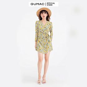 Jumpsuit xếp ly GUMAC DB625