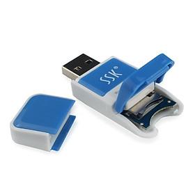 Đầu Đọc Thẻ Nhớ SSK SCRS022 TF / Micro SD
