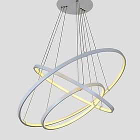 Đèn led thả trần trang trí nhà cửa 3 vòng hình tròn S559