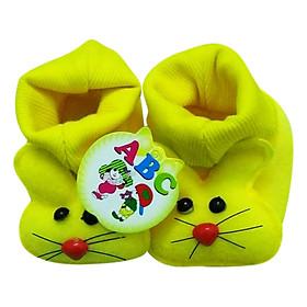 Giày Sơ Sinh Baby Newborn Bảo Thịnh - Vàng (10cm)