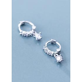 Bông Tai Nữ | Bông Tai Nữ Bạc S925 Thời Trang B2441 - Bảo Ngọc Jewelry