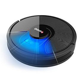 Robot hút bụi, lau nhà Rapido RR8- kết nối điện thoại, cảm biến thông minh, diệt khuẩn UV- Hàng chính hãng