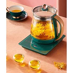 Ấm siêu tốc - Bình đun siêu tốc - Ấm đun nước - ấm sieu tốc thủy tinh đa năng nấu ăn pha trà nấu cháo