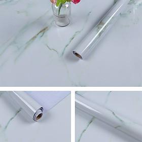 Decal dán bếp đá hoa cương 2 - có keo sẵn khổ rộng 60cm dài 5m