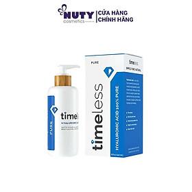 Tinh Chất Dưỡng Ẩm & Cấp Nước Timeless Hyaluronic Acid Pure Serum (60ml)