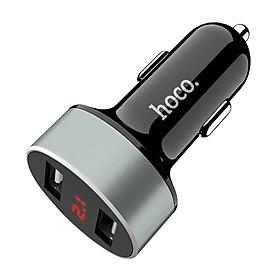 Tẩu sạc kép USB Z26 trên ô tô nhãn hiệu Hoco