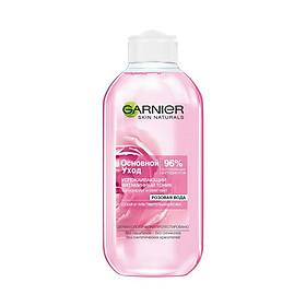 Nước hoa hồng dành cho da khô và nhạy cảm Garnier soothing vitamin tonic rose extract 200ml