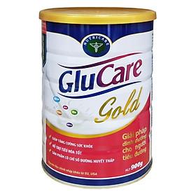 Sữa bột Nutricare Glucare Gold dinh dưỡng cho người tiểu đường (900g)