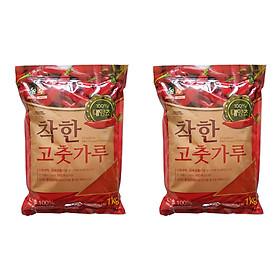 2 Gói Ớt Bột Mịn Hàn Quốc CHACKHAN - NONG WOO