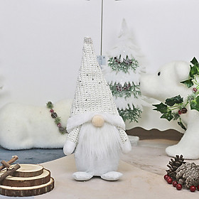 Christmas Faceless Doll Old Man Doll, Christmas Ornament Fur Old Man Pendant, Knitted Material Christmas Tree Hanging