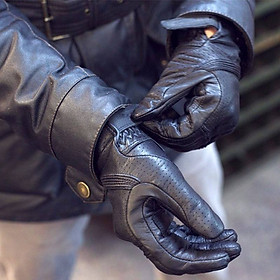 Găng tay da Revit