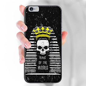 Ốp lưng dành cho iPhone 6/6S  mẫu King of the wolrd