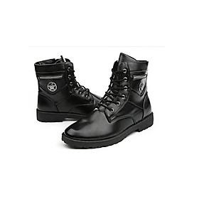 Giày nam combat boot ngôi sao SM045