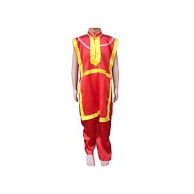 Bộ trang phục múa lân sư rồng màu đỏ dành cho thanh thiếu niên và người lớn