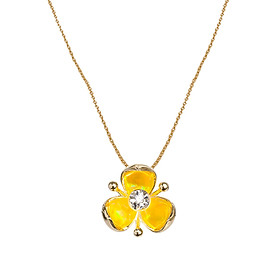 Dây Chuyền Galatea Jewelry Illusia A5 - Vàng