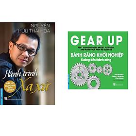 Combo 2 cuốn sách: Hành Trình Xa Xứ - Giấc Mơ Quốc Gia Khởi Nghiệp (Bìa cứng) + Bánh Răng Khởi Nghiệp - đường đến thành công