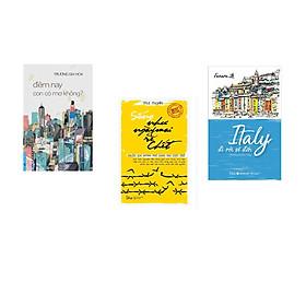 Combo 3 cuốn sách: Đêm Nay Con Có Mơ Không ? + Italy Đi Rồi Sẽ Đến + Sống Như Ngày Mai Sẽ Chết