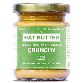 Bơ Đậu Phộng Nguyên Chất Có Hạt Đạt Butter (150g)