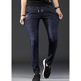 Quần kaki nam gam màu mới lạ, cá tính from cực chuẩn 117 Xanh