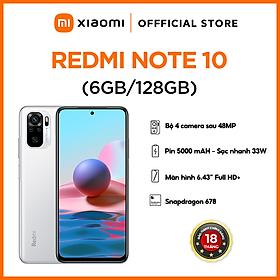 Điện Thoại Xiaomi Redmi Note 10 (6GB/128GB) - Hàng Chính Hãng