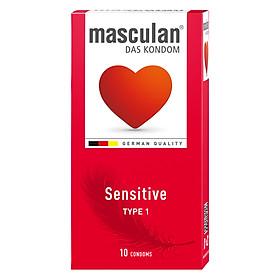Bao Cao Su Masculan Das Kondom Sensitive (10 Cái/ Hộp)