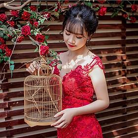 Chụp 3 hình cổng phong cách Hàn Quốc –  ảnh cưới ép gỗ lụa 60×90 Laminate tại phim trường Tini + 15 ảnh 13x18