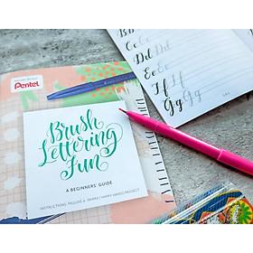 Worksheet tập viết chữ calligraphy cho người mới bắt đầu (Font 1)