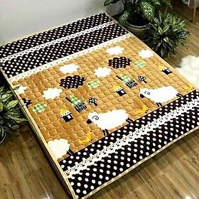 Thảm Cừu Trải Giường TC15