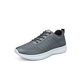 Giày Thể Thao Nam Vải Nhẹ Thoáng Khí 3Fashion - MSP 3126 - Xám