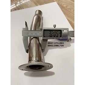 Tiêu giảm thanh pô 4road phi 27mm & 32mm inox 304 dành cho xe máy