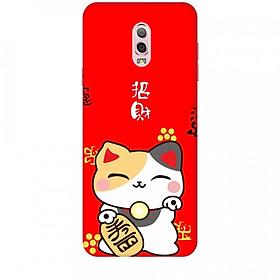 Ốp lưng dành cho điện thoại SAMSUNG GALAXY J7 PLUS Mèo Thần Tài Mẫu 1