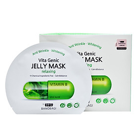 Mặt Nạ Banobagi Vita Genic Jelly Mask Relaxing MM44 (1 Hộp/ 10 Miếng)