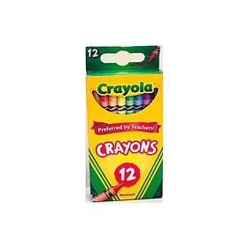 Bút sáp 12 màu CRAYOLA 523012