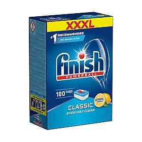 Viên rửa bát tổng hợp FINISH 100 viên hương chanh