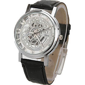 Leather Stainless Steel Wrist Watch Watches Watches