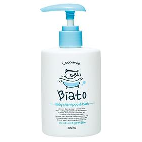 Sữa tắm gội dưỡng ẩm cho bé LACOUVEE BIATO BABY SHAMPOO & BATH