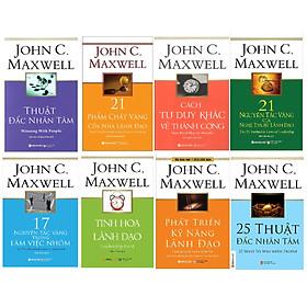 Combo 8 Cuốn Tinh hoa lãnh đạo của John C. Maxwell
