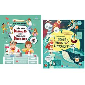 Combo 2 Cuốn: Big Picture Book Of General Knowledge - Cuốn Sách Tranh Khổng Lồ Về Khoa Học Thường Thức + Cuốn sách mang đến kiến thức khái quát cho bé: Big Book Of Science Experiments - Cuốn Sách Khổng Lồ Về Các Thí Nghiệm Khoa Học