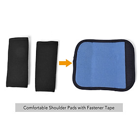 Posture Corrector with Shoulder Pads Men Women Adjustable Back Trainer Shoulder Straps Back Brace Support-2