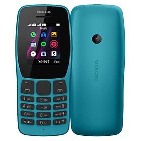 Nokia 110 Dual Sim (2019) - Xanh - Hàng chính hãng