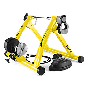 Foldable Magnetic Bike Trainer Stand with 6 Resistance Levels Cycling Rack Indoor Bicycle Exercise Training Stand for