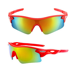 Sports Sunglasses Cycling Sunglasses PC Lenses Bike Glasses for Running Cycling Motorcycle Skiing Men Women
