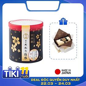 Combo 01 Hộp tăm bông lấy ráy tai Seiwa Pro 180P + 01 Set 02 khăn cuộn cotton loại nhỏ (Giao màu ngẫu nhiên) - Nội địa Nhật Bản
