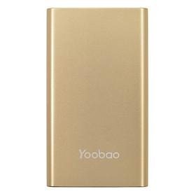 Pin Sạc Dự Phòng Yoobao 5000mAh YB-PL  (Vàng Đồng) - Hàng Nhập Khẩu