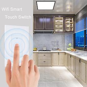 Intelligent Home Wireless Phone Remote Control Touch Switch Support for Alexa Google Home IFTTT European Regulation